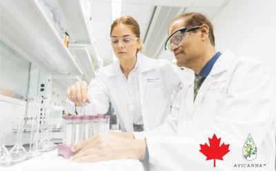 Avicanna Secures Canadian Cannabinoid Research Licence at its Headquarters in Toronto's Discovery District