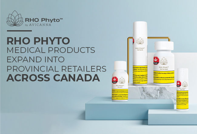 Avicanna To Expand Access To Its Advanced And Evidence-based Rho Phyto Medical Products Through Provincial Retailers Across Canada