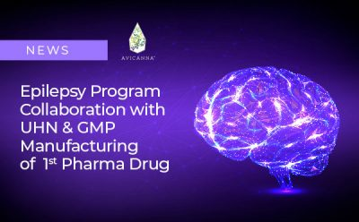 Avicanna Advances Pharmaceutical Epilepsy Program with Collaboration with The University Health Network and GMP Manufacturing Of Its First Pharmaceutical Preparation