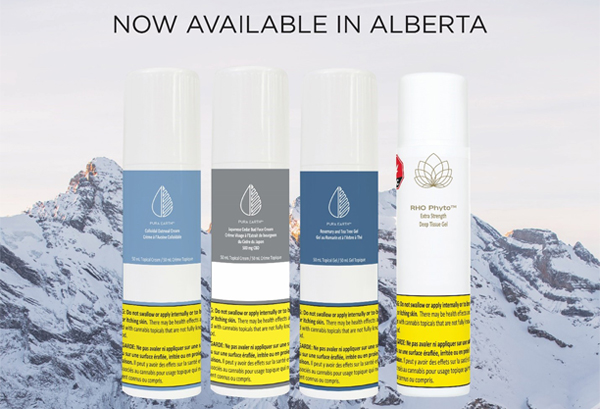 Avicanna Expands Sales of Pura Earth and RHO Phyto Branded Topicals into Alberta's Retail Channels